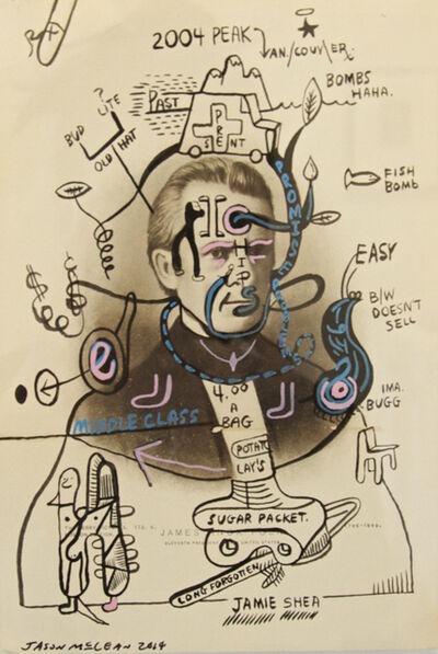 Jason McLean, 'Ima Bugg', 2014