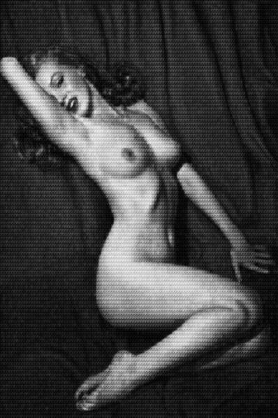 Alex Guofeng Cao, 'Marilyn vs Hugh Hefner', 2014