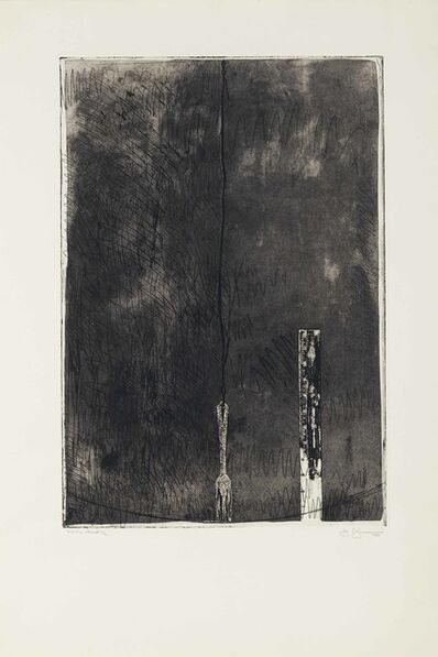 Jasper Johns, 'Untitled, Second State', 1969