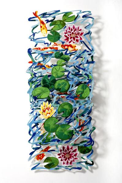 David Gerstein, 'POND(VERTICAL) 荷塘(垂直)', 2008