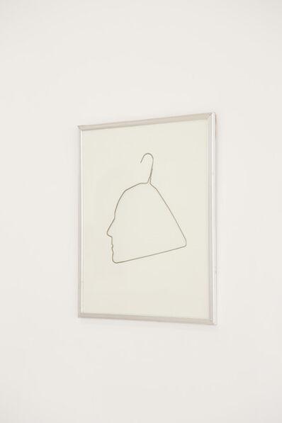 Ai Weiwei, 'Hanger Profile of Ethan Cohen', 1988