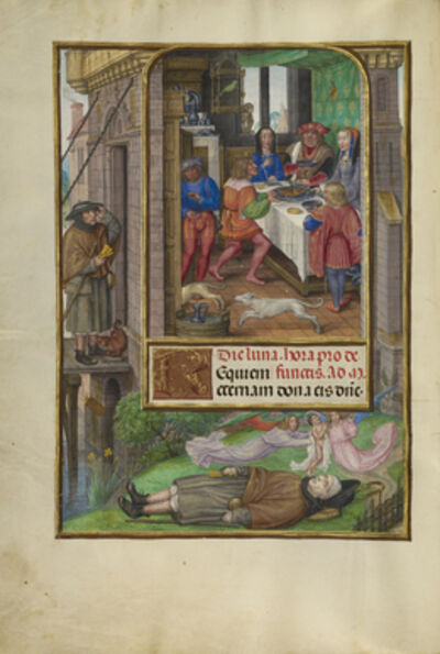 Master of James IV of Scotland, 'The Feast of Dives', 1510-1520