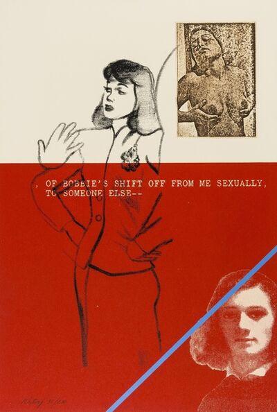 R. B. Kitaj, 'A day Book (Ramkalawon 133-146)', 1970-72
