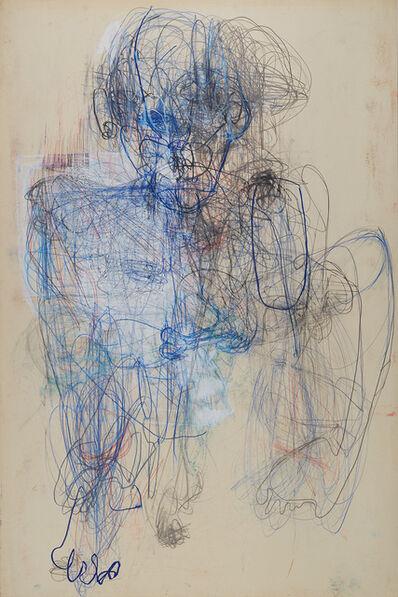 Caroline Demangel, 'Homme Bleu', 2018