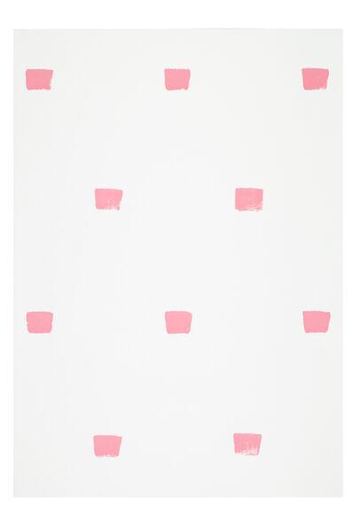 Niele Toroni, 'Impronte di pennello nº 50 a intervalli di 30 cm', 1997