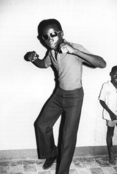 Malick Sidibé, 'A Ye-Ye Dancer', 1965
