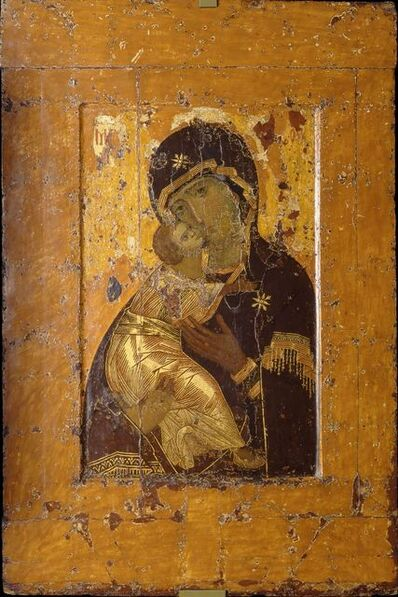 'Theotokos of Vladimir (Virgin of Vladimir)', 11th-12th century