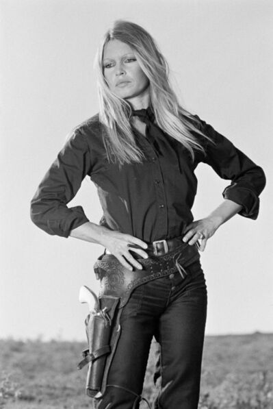 Terry O'Neill, 'French actress Brigitte Bardot on the set of 'Les Petroleuses' a.k.a. 'The Legend of Frenchie King', directed by Christian-Jaque in Spain, 1971.', 1971