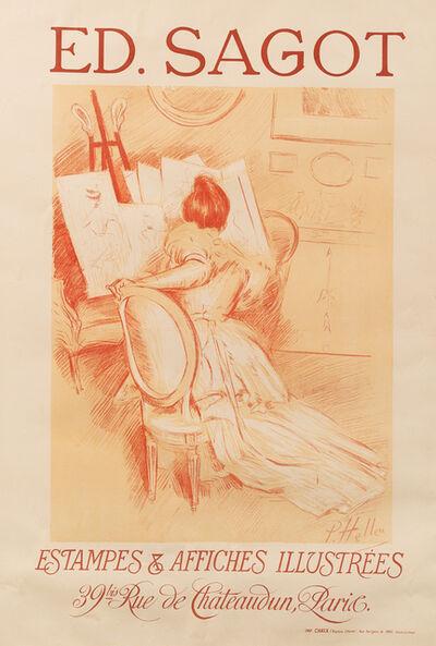 Paul César Helleu, 'Ed. Sagot, Estampes et Affiches Illustrées,', 1900