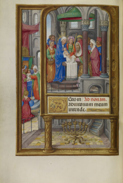 Master of James IV of Scotland, 'The Presentation in the Temple', 1510-1520