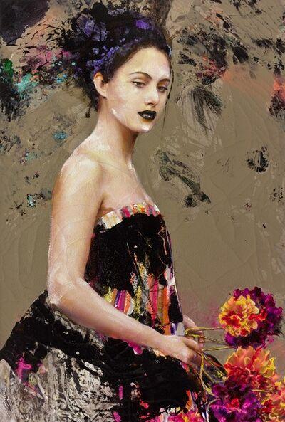Lita Cabellut, 'Color of Dew 08', 2015