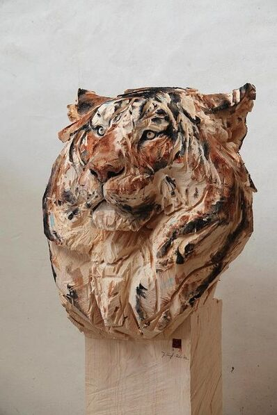 Jürgen Lingl-Rebetez, 'Buste de Tigre', 2019