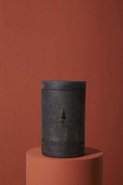 Cathrine Raben Davidsen, 'Charcoal Head Jar', 2019