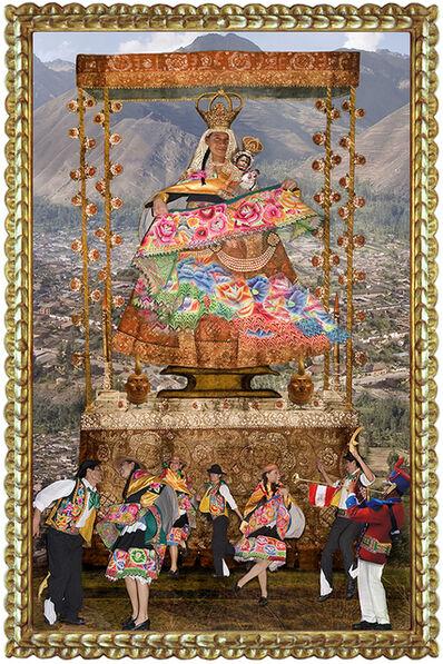 Ana de Orbegoso, 'Urban Virgins:  Virgen de Cocharcas', 2006-2020
