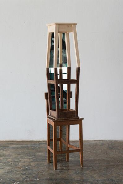José Pedro Croft, 'Duas exculturas Bancos', 2015