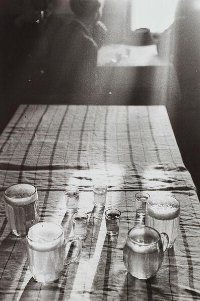 René Burri, 'Beer Glasses, Czechoslovakia', 1955