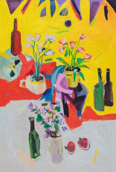 Zygmund Jankowski, 'Still Life, Four Bottles', ca. 1980