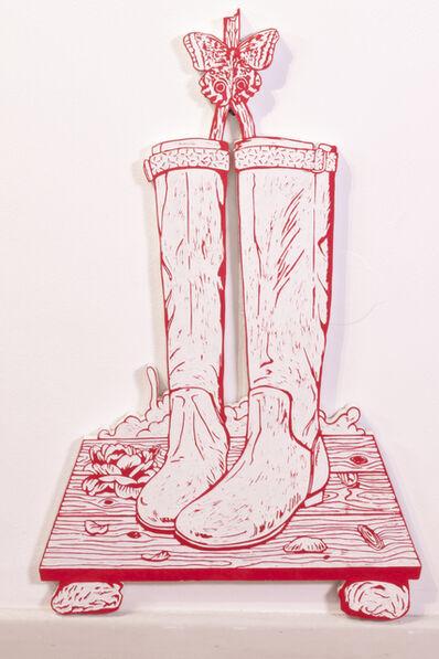Kenichi Yokono, 'Boots and Butterfly', 2014