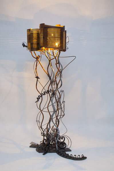 Susan Woods, 'Baroque Grunge floor lamp', 2013