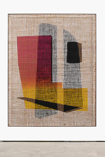 """David Renggli, '""""Floorplan Desire Painting (Two Shade Pale)""""', 2016"""