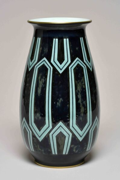 Sèvres Porcelain Manufactory, 'Aubert 2 Vase (decor of Albert Martine  95.30 01-2)', 1930