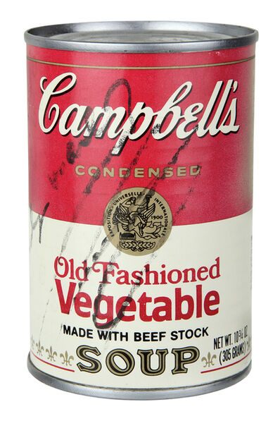 Andy Warhol, 'Campbell's Soup - Old Fashioned Vegetable', 1970