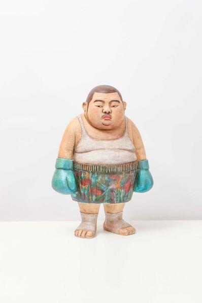 Kim Won Geun [김원근], 'Hungry Boxer', 2018