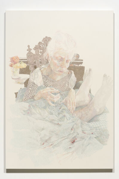 Josephine Taylor, 'Colored ink and colored pencil on paper stretched on panel', 2014