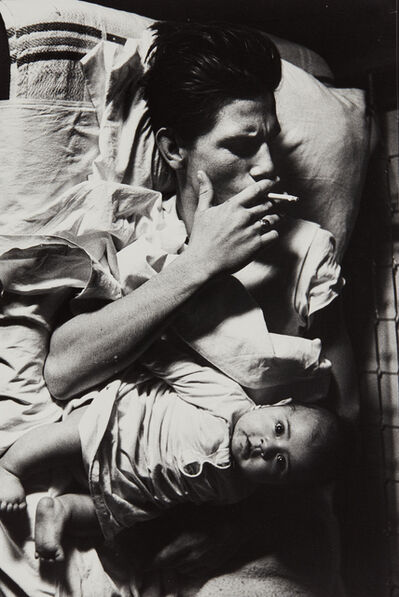 Larry Clark, 'Billy with Baby', 1963-printed later