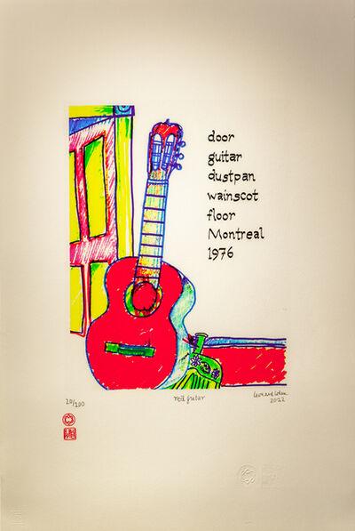 LEONARD COHEN, 'Red Guitar', 2012