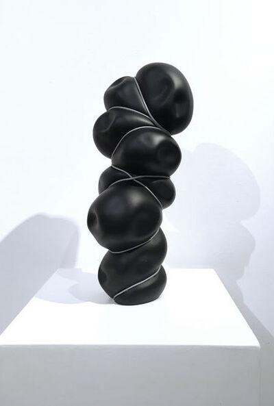 Stephan Marienfeld, 'Bondage Vertical II - Blow-In (Porcelain, black)', 2017