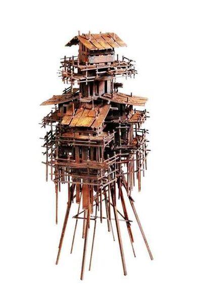 Fernando Suárez Reguera, 'Stilt house V', 2021