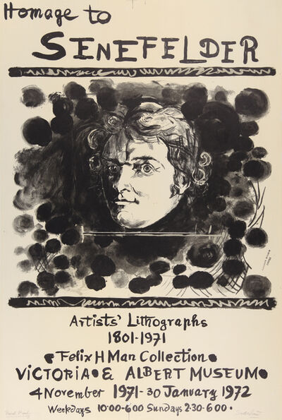 Graham Sutherland, 'Homage to Senefelder', 1971