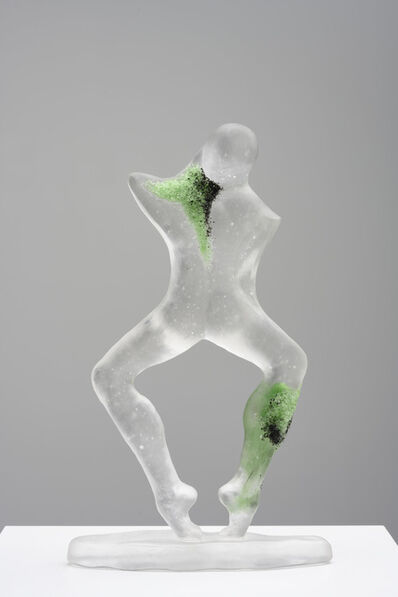 "Grace Schwindt, '""Light Green Dance""', 2019"
