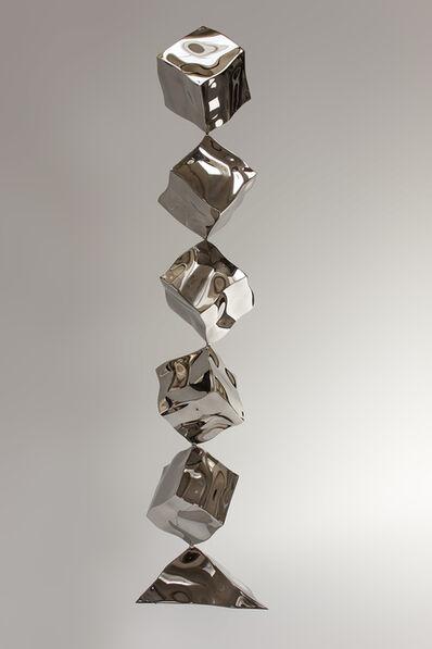 Rado Kirov, 'Balancing Cubes', 2018