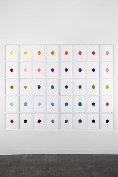Ceal Floyer, 'Ink On Paper (Set of 40)', 2011