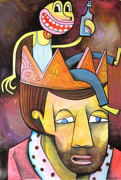 Jim Avignon, 'Einen in der Krone', 2016