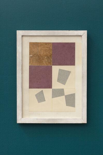 Hans Arp, 'Collage Géométrique', 1916
