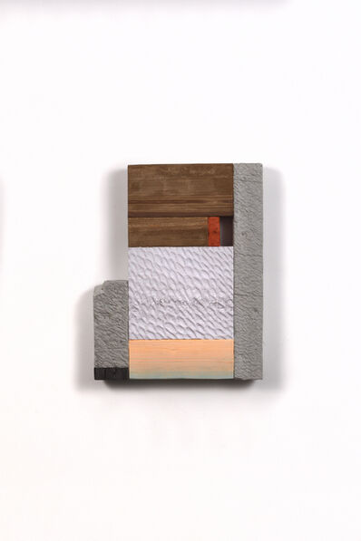 Irfan Hendrian, 'Composition of blackwood, brick, chalkwood, concrete, and coral cedar', 2020