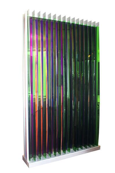 Carlos Cruz-Diez, 'Transchromie Dames A Permutation 2', 1965 -2009