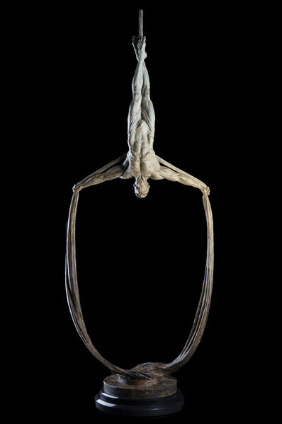 Richard MacDonald, 'Transcendence (Sasha II) Bronze Sculpture Signed - Contemporary Art', 1990-2010