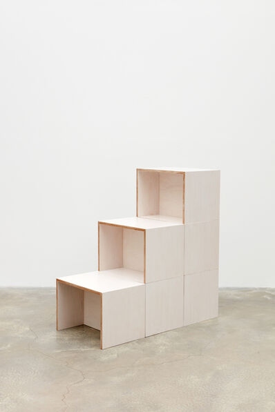 Mateo López, 'Bench (Variations with 6)', 2018