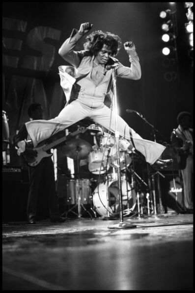 David Corio, 'James Brown, Hammersmith Odeon, London, UK', 1985