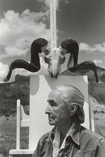Arnold Newman, 'Georgia O'Keeffe, Ghost Ranch, New Mexico', 1968