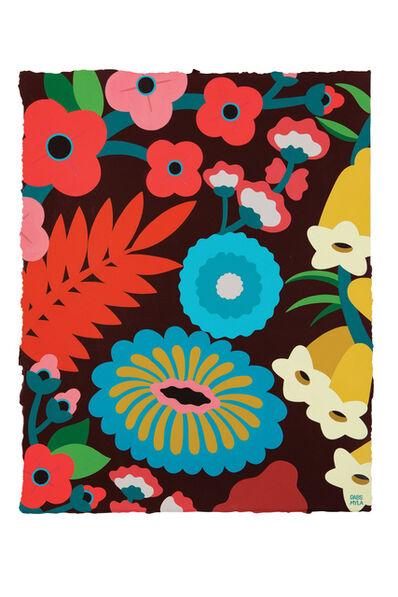 DABSMYLA, 'Flower Color Study 18', 2018