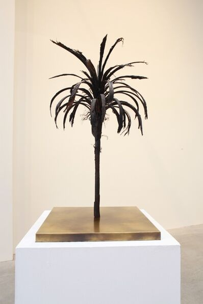 Douglas White, 'Black Palm Maquette', 2016