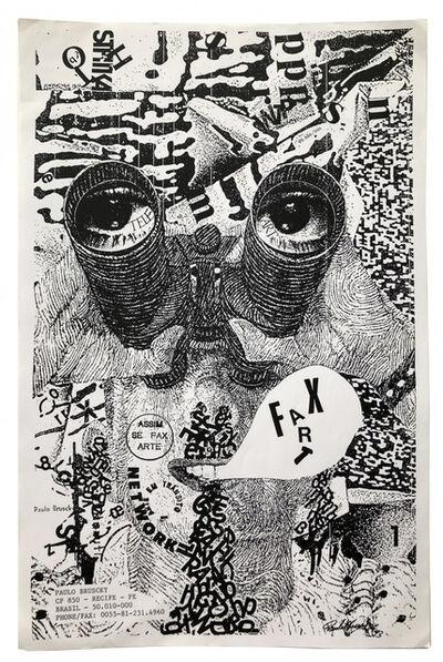 Paulo Bruscky, 'Fax Art', 1993