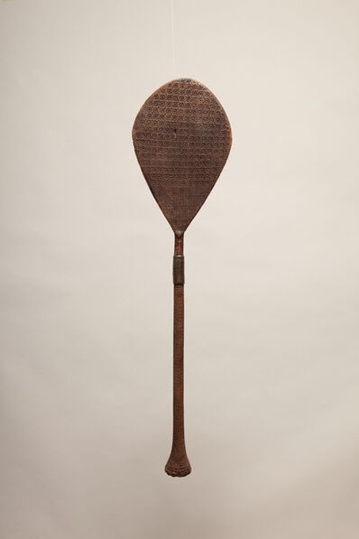 Oceanic Art, 'Austral Island Paddle (Round Handle)', Mid 19th Century