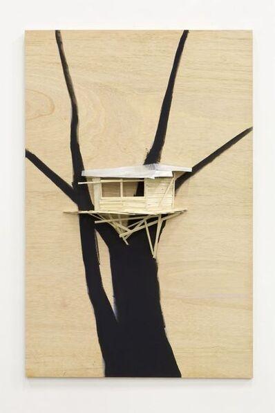 Tadashi Kawamata, 'Tree hut plan n°51', 2018