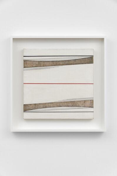 Bice Lazzari, 'Linea rossa n.2 [Red line no.2]', 1966